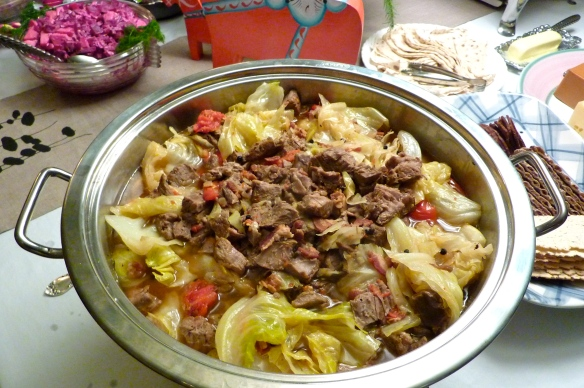 Braised Lamb with Cabbage and Tomatoes