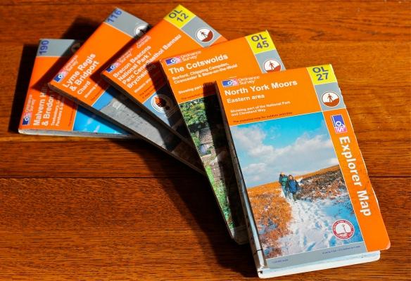 Ordnance Survey Walking Maps