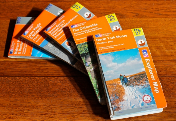 Ordnance Survey Walking Maps