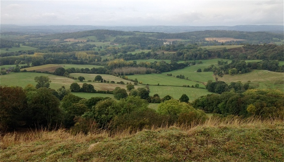Worcestershire from The Malverns (AKA The Shire)